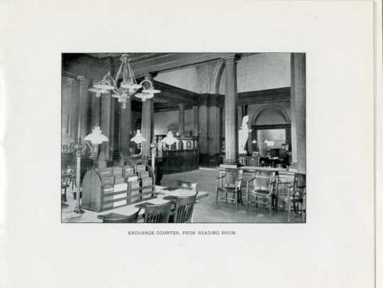 Exchange room inside the Winona Public Library