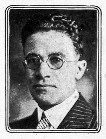 Black and white photograph of William T. Francis, from Northwestern Bulletin Appeal, November 1, 1924.