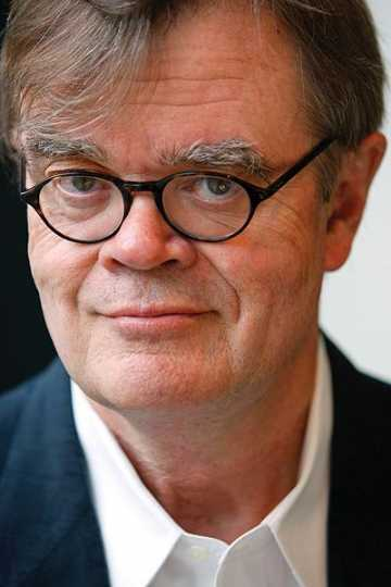 A Prairie Home Companion's founder and longtime host, Garrison Keillor. Photograph by Prairie Home Productions, 2009.