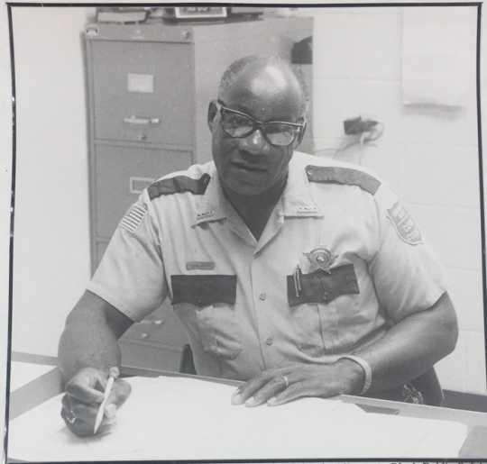 Photograph of John Lyght, 1984