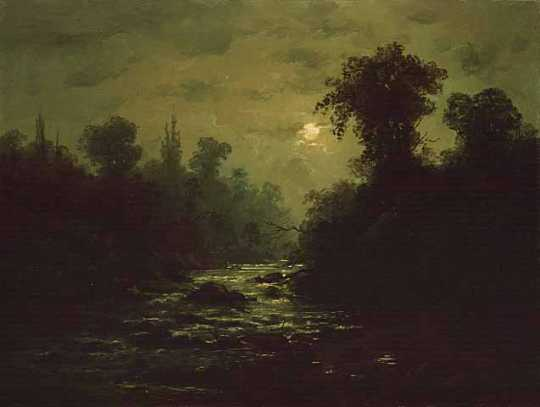 The Glen by Moonlight