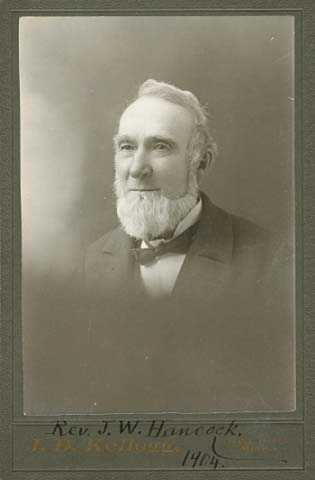Portrait of Joseph Hancock, 1904