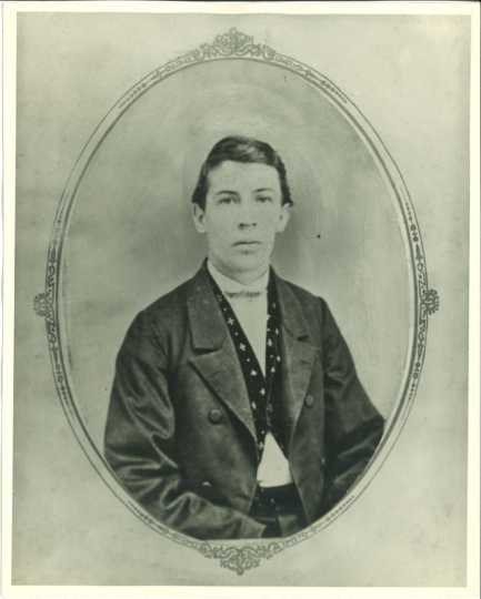 Photograph of Albert Woolson, ca. 1870. Used with the permission of the St. Louis County Historical Society.