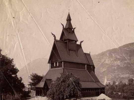 Hopperstad Church (Norway) after restoration