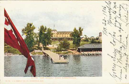 Color photograph of the Hotel Del Otero, c.1906