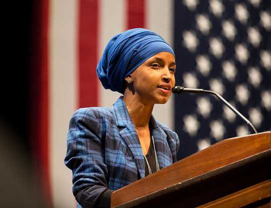 Photograph of Ilhan Omar