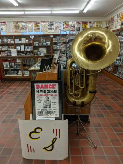 Tuba and other artifacts