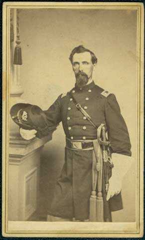 Photograph of Colonel Josiah F. Marsh