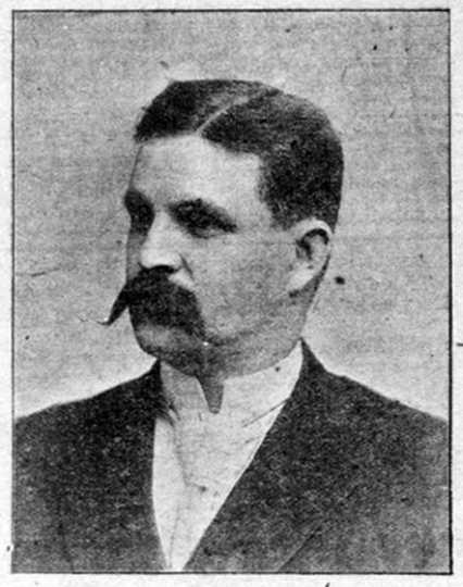 Black and white photograph of Dr. Arthur Kilbourne, 1902.