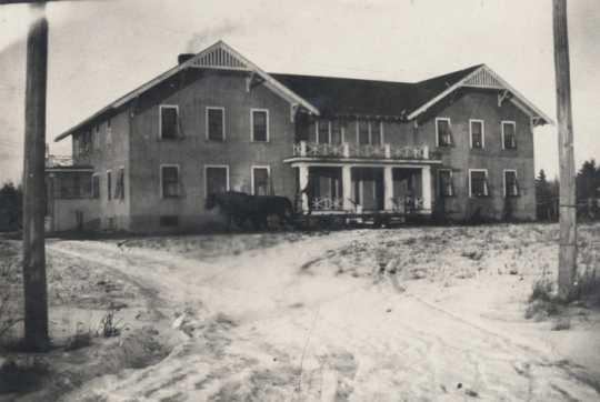 Main building, Beltrami County Poor Farm