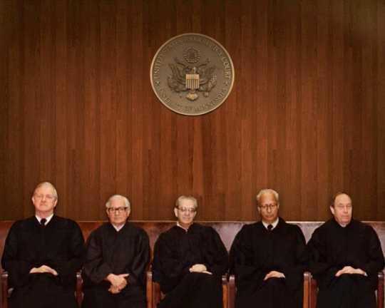 Photograph of Minnesota judges, including Patrick J. McNulty
