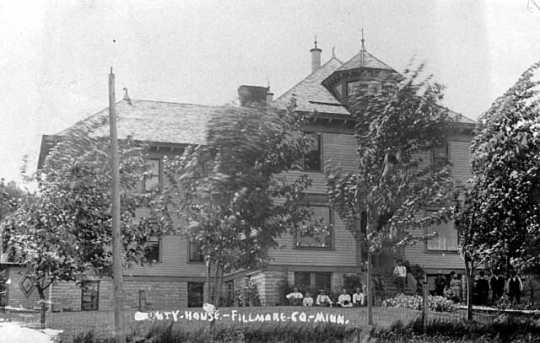 Photograph of Fillmore County Poor Farm