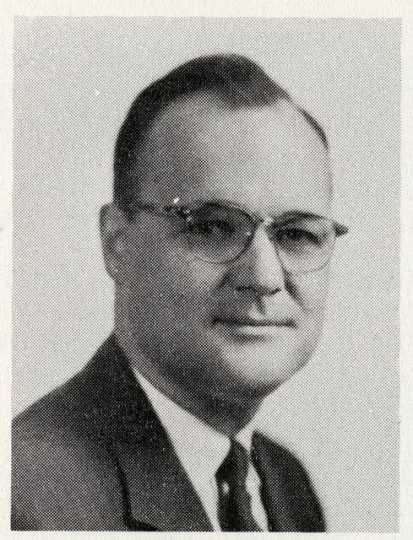 Senator Lloyd L Duxbury Jr. from the Minnesota Legislative Manual, 1963.