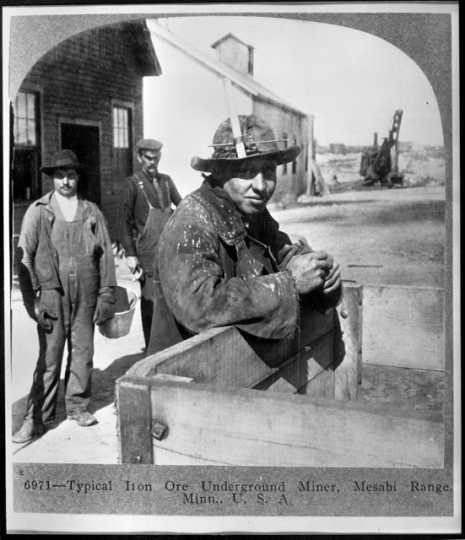 Underground miner, Mesabi Range