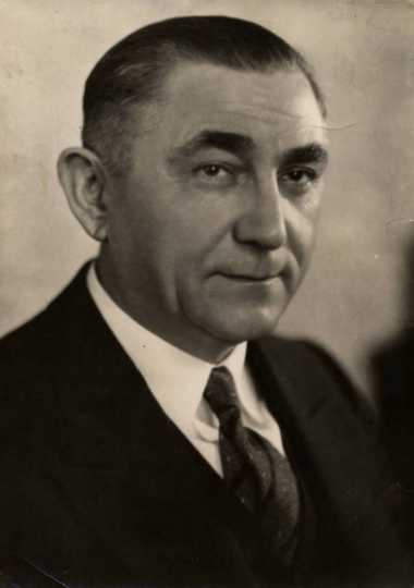 Black and white photograph of Dr. Moses Barron, c.1930.