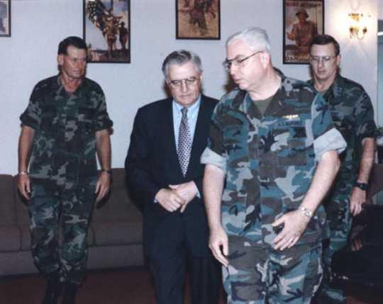United States Ambassador to Japan Walter Mondale