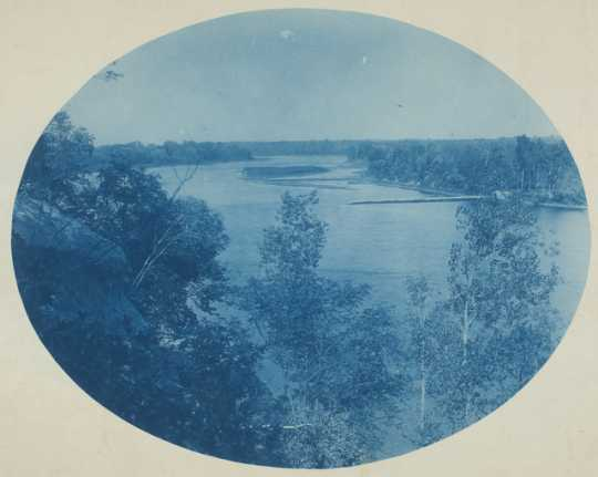 A view from the site of the town of Nininger c.1890