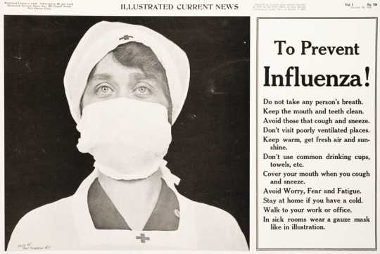 Influenza awareness poster