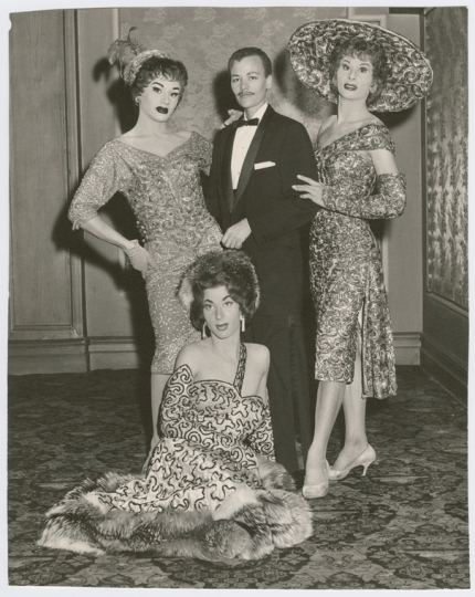 Stormé DeLarverie with other drag performers