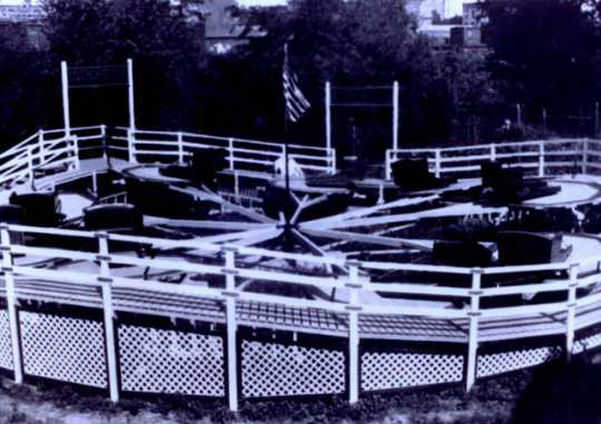 The first Tilt-A-Whirl