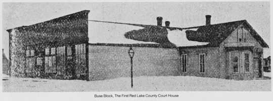 Original Red Lake County courthouse
