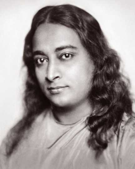 Portrait of Paramahansa Yogananda, a Hindu spiritual leader and teacher of priya yoga, ca. 1920.