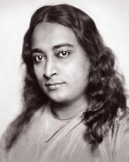 Portrait of Paramahansa Yogananda, a Hindu spiritual leader and teacher of priya yoga, ca. 1920.