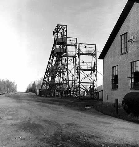Shaft of the Soudan Mine