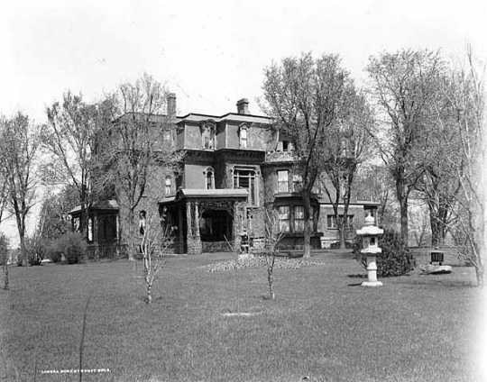 Thomas Lowry home, Hennepin and Groveland, Minneapolis