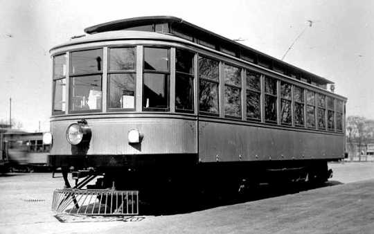 Thomas Lowry's private car at Nicollet