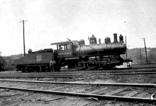 Minneapolis, St. Paul & Sault Ste. Marie Railway Company locomotive