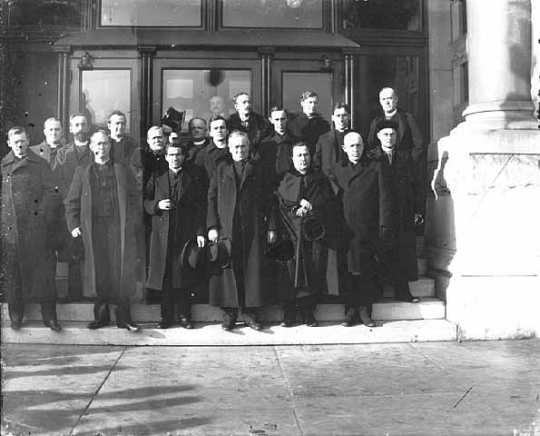 Group of clergymen