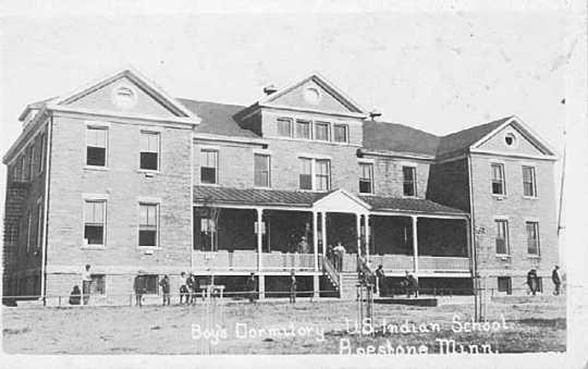 Boys' dormitory, United States Indian School, Pipestone