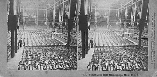 Nomination Hall, Republican National Convention, Minneapolis