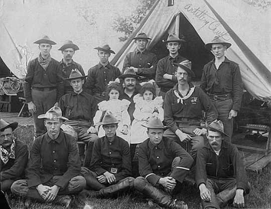 Gunners of the First Battalion of Artillery