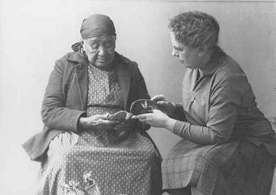 Frances Densmore with Susan Windgrow