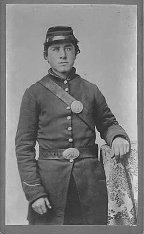 Knute Nelson in Civil War uniform