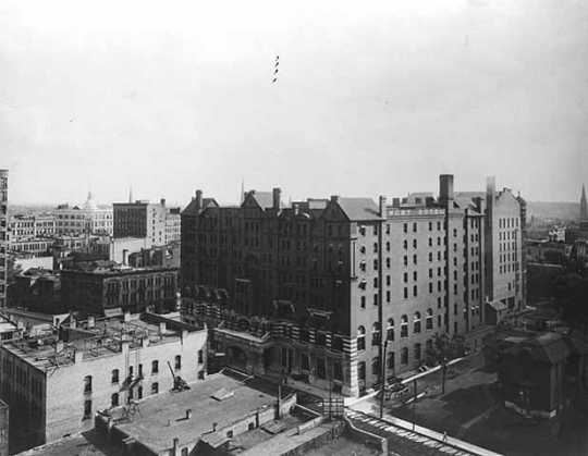 West Hotel, Fifth Street at Hennepin, Minneapolis