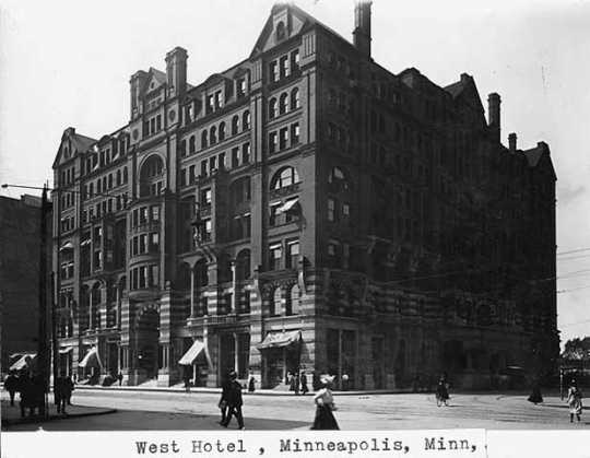 West Hotel, Fifth Street and Hennepin Avenue, Minneapolis