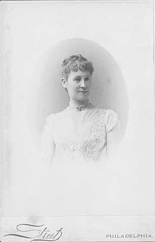 Marion Ramsey Furness, President of Schubert Club, St. Paul 1886-1887