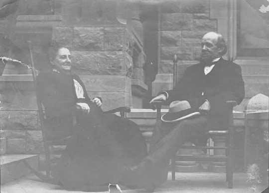 Charles Alfred Pillsbury and Mary Ann Stinson Pillsbury (Mrs. Charles A.)