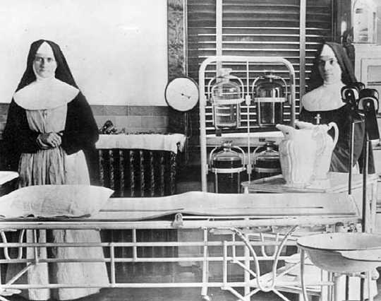 Operating room, St. Mary's Hospital, Rochester