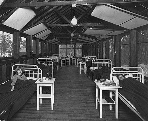 Children at State Sanatorium near Walker