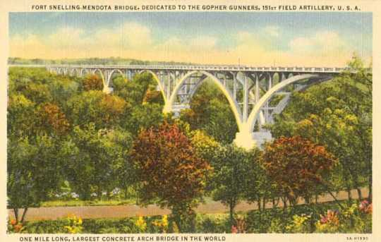 Fort Snelling-Mendota Bridge