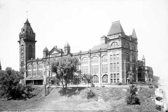 Exposition Building, Central Avenue and Prince Street, Minneapolis
