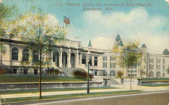 Pillsbury Library and Exposition Building