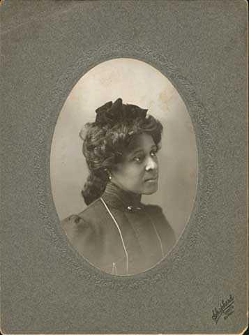 Mattie McGhee (Mrs. Frederick McGhee)