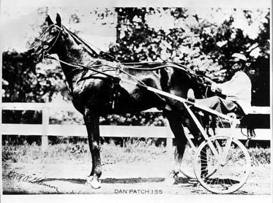 Dan Patch with driver Harry Hersey