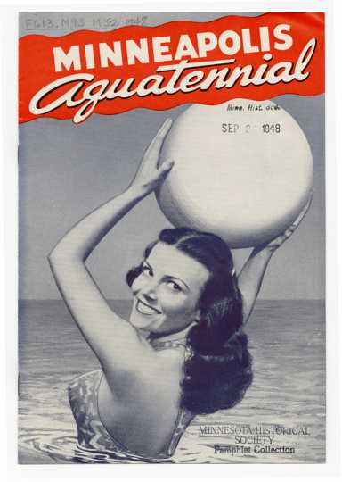 1948 Aquatennial promotional pamphlet cover