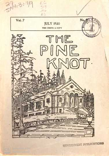 Cover of the Pine Knot